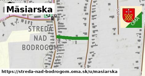 ilustrácia k Mäsiarska, Streda nad Bodrogom - 166m