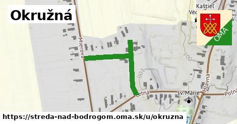 ilustrácia k Okružná, Streda nad Bodrogom - 324m