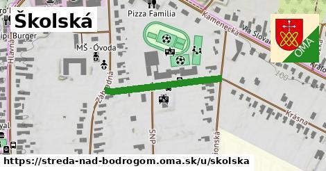 ilustračný obrázok k Školská, Streda nad Bodrogom
