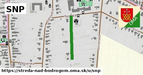 ilustrácia k SNP, Streda nad Bodrogom - 226m