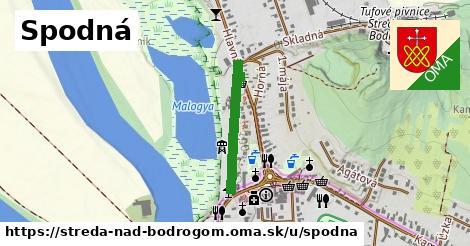 ilustrácia k Spodná, Streda nad Bodrogom - 406m