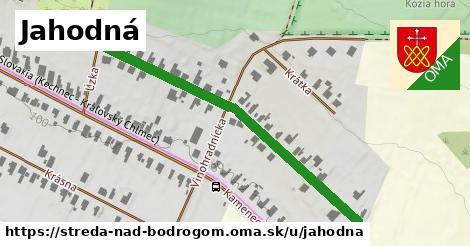 ilustrácia k Jahodná, Streda nad Bodrogom - 508m