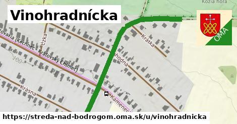 ilustrácia k Vinohradnícka, Streda nad Bodrogom - 599m