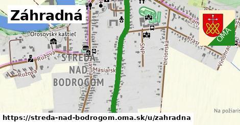 ilustrácia k Záhradná, Streda nad Bodrogom - 0,93km