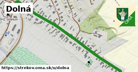 ilustrácia k Dolná, Strekov - 559m