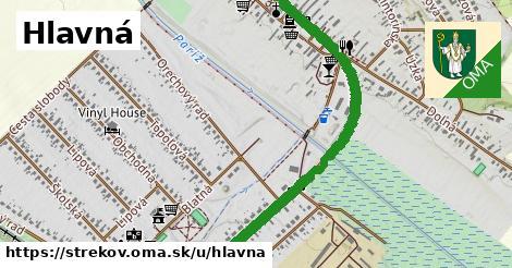 ilustrácia k Hlavná, Strekov - 1,74km