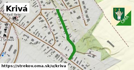 ilustrácia k Krivá, Strekov - 318m
