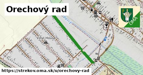 ilustrácia k Orechový rad, Strekov - 511m