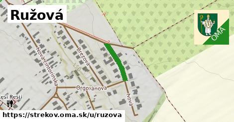 ilustrácia k Ružová, Strekov - 130m