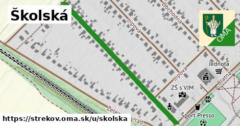 ilustrácia k Školská, Strekov - 516m