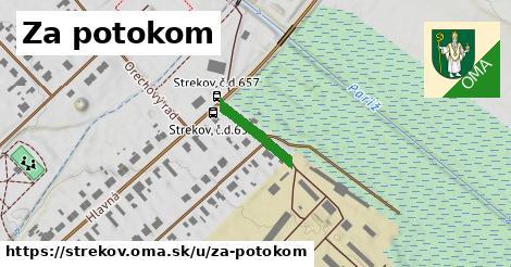 ilustrácia k Za potokom, Strekov - 143m