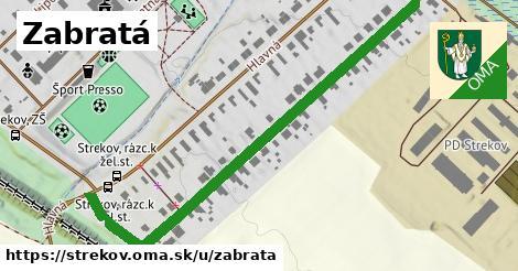 ilustrácia k Zabratá, Strekov - 674m