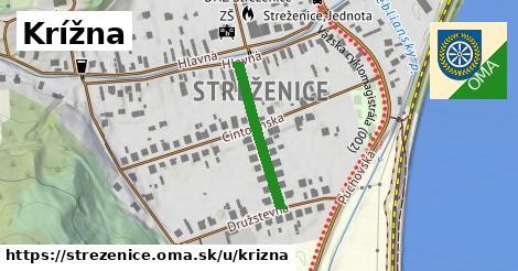 ilustrácia k Krížna, Streženice - 217m