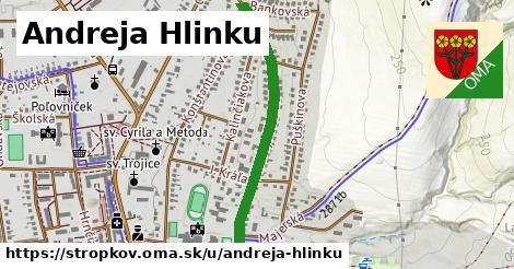 ilustrácia k Andreja Hlinku, Stropkov - 0,81km