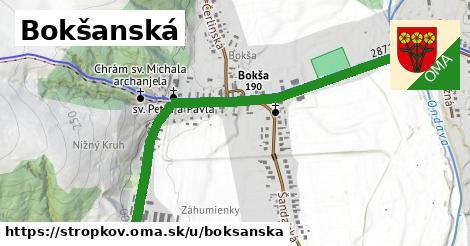 ilustračný obrázok k Bokšanská, Stropkov