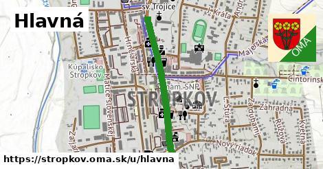 ilustrácia k Hlavná, Stropkov - 633m
