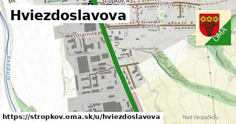 ilustrácia k Hviezdoslavova, Stropkov - 1,31km