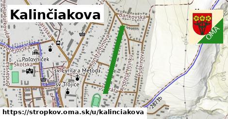 ilustrácia k Kalinčiakova, Stropkov - 450m