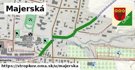 ilustrácia k Majerská, Stropkov - 391m