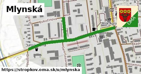 ilustrácia k Mlynská, Stropkov - 468m