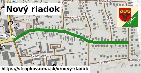ilustračný obrázok k Nový Riadok, Stropkov