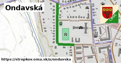 ilustrácia k Ondavská, Stropkov - 349m