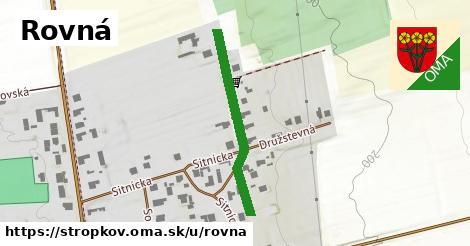 ilustrácia k Rovná, Stropkov - 223m