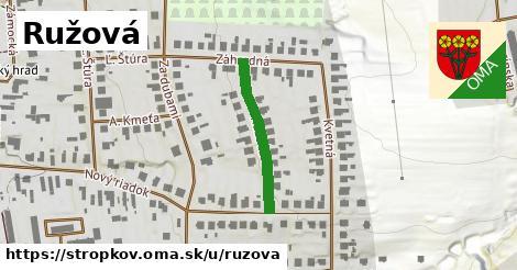ilustrácia k Ružová, Stropkov - 225m