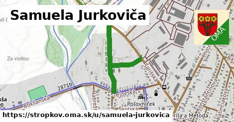 ilustračný obrázok k Samuela Jurkoviča, Stropkov
