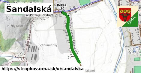 ilustrácia k Šandalská, Stropkov - 591m