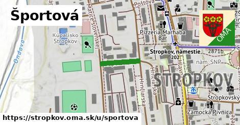 ilustračný obrázok k Športová, Stropkov