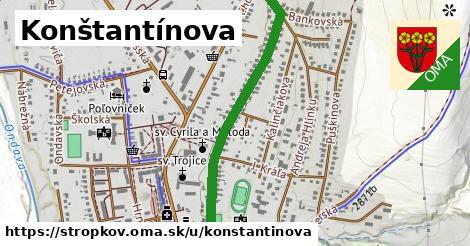 ilustrácia k Konštantínova, Stropkov - 1,01km