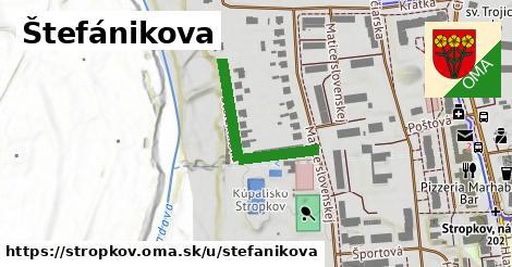 Štefánikova, Stropkov