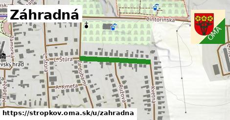 ilustrácia k Záhradná, Stropkov - 225m
