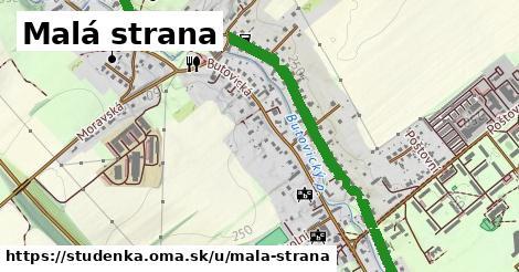 ilustrácia k Malá strana, Studénka - 2,6km