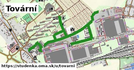 ilustrácia k Tovární, Studénka - 1,85km