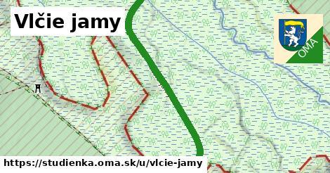 ilustrácia k Vlčie jamy, Studienka - 480m