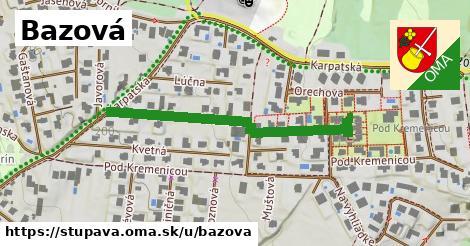 ilustrácia k Bazová, Stupava - 405m