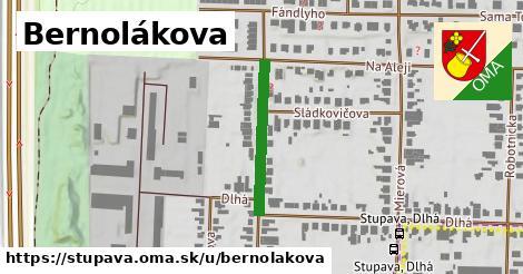 ilustrácia k Bernolákova, Stupava - 221m