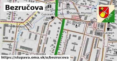 ilustrácia k Bezručova, Stupava - 387m