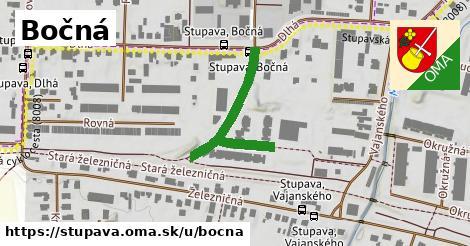 ilustrácia k Bočná, Stupava - 308m