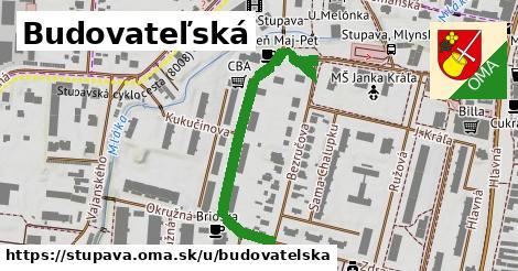 ilustrácia k Budovateľská, Stupava - 456m