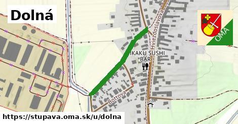 ilustrácia k Dolná, Stupava - 266m