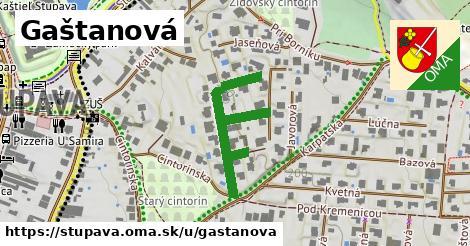 ilustrácia k Gaštanová, Stupava - 358m