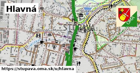 ilustrácia k Hlavná, Stupava - 1,57km