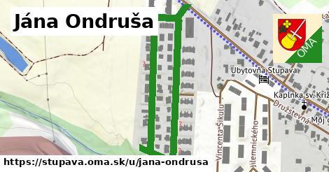 ilustračný obrázok k Jána Ondruša, Stupava