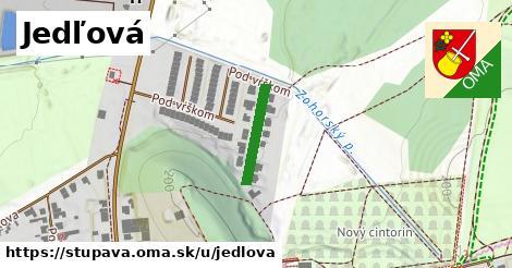 ilustrácia k Jedľová, Stupava - 149m