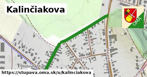 ilustrácia k Kalinčiakova, Stupava - 454m