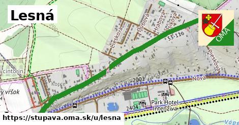 ilustrácia k Lesná, Stupava - 560m