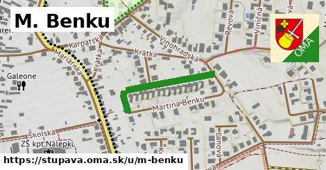 ilustrácia k M. Benku, Stupava - 261m